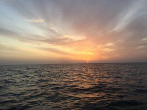 玄海灘 朝日
