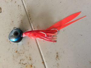 JACKALL タングステン鯛カブラ ビンビン玉 100g 中身はこんな感じ